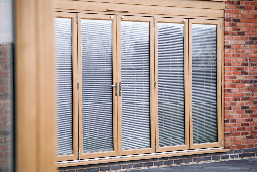 Wooden Bi-Folding Doors