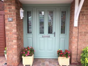 Turquoise Composite Door