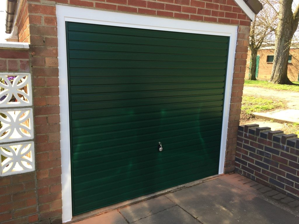 Garage Door Green