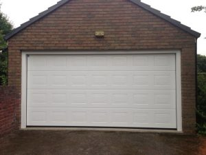 Garage Door White