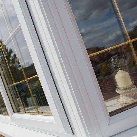 White Window Close Up